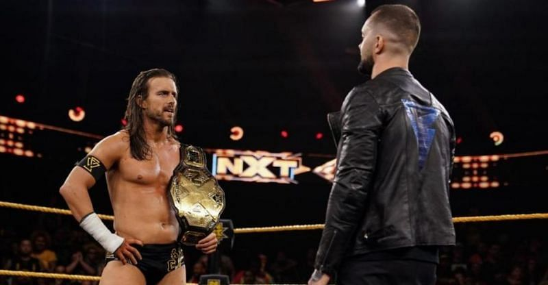 Finn Balor and Adam Cole will lock horns next week for the vacant NXT Championship