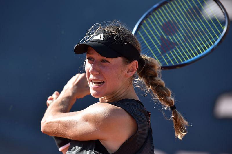Kaja Juvan at the Palermo Ladies Open in August