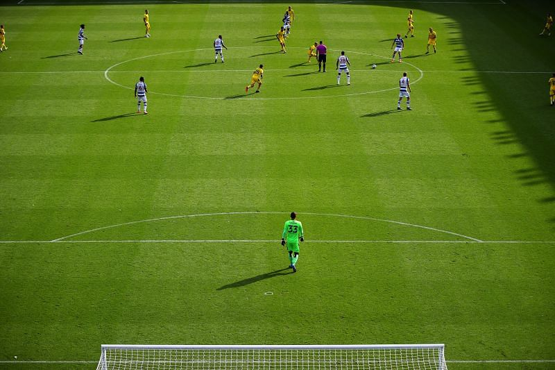 Barnsley finished with nine men in their 2-0 loss to Reading last weekend