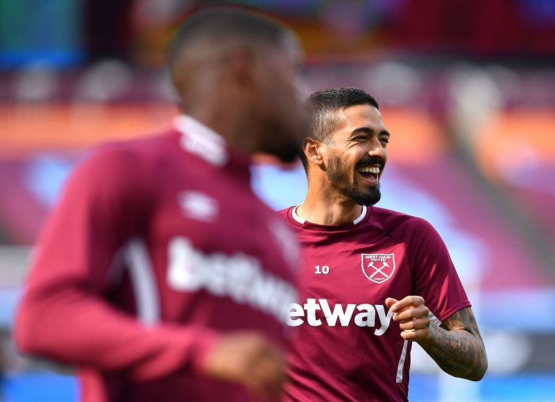 Manuel Lanzini is back for West Ham