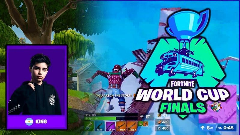 King is one of the biggest Fortnite esports players in the world (Image Credit: Accelerated Ideas)