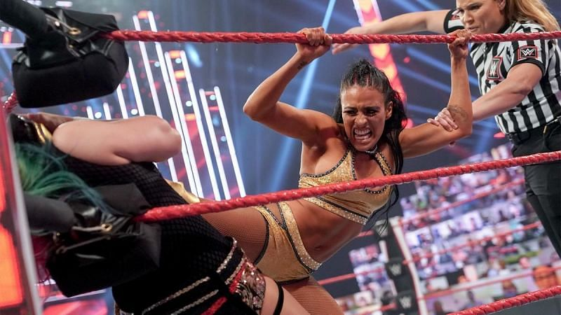 Zelina Vega looked impressive inside the ring tonight