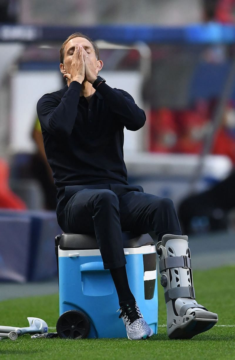 Thomas Tuchel is facing difficulties caused by COVID-19.