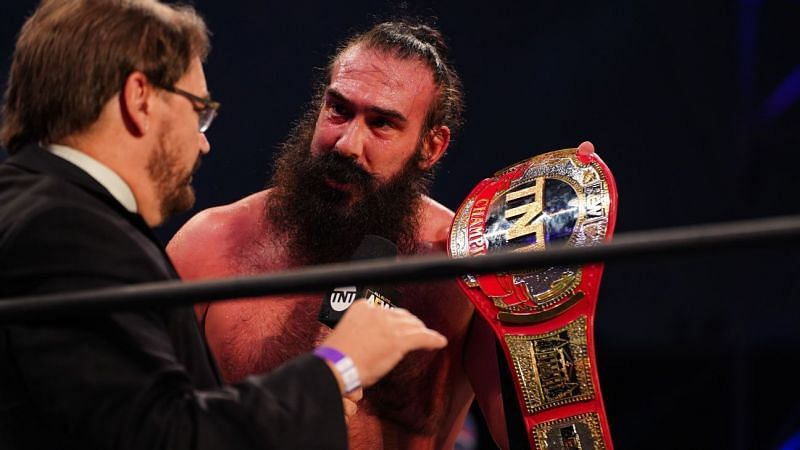 Brodie Lee recently defeated Cody to become the AEW TNT Champion