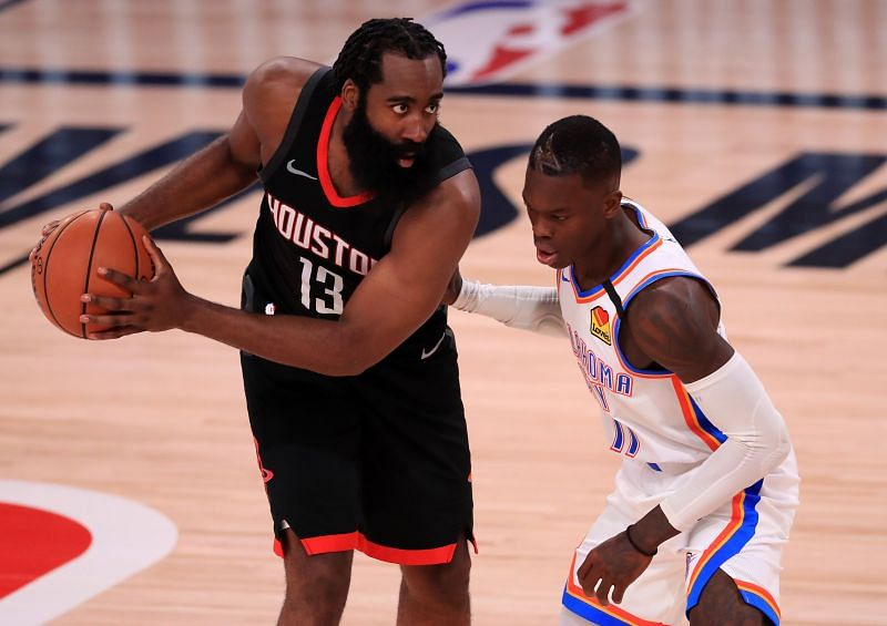 James Harden could reportedly be traded away by the Houston Rockets.