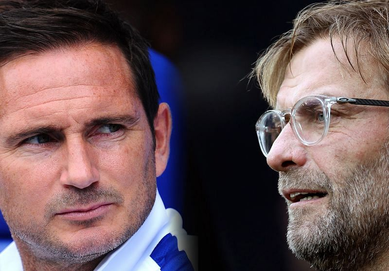 Frank Lampard has responded to Jurgen Klopp