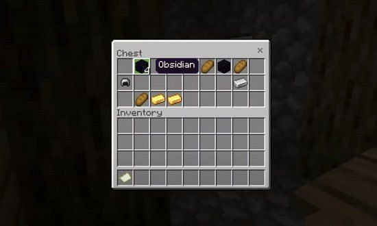 One of the chests in the village (Image credits: Minecraft-seeds.net)