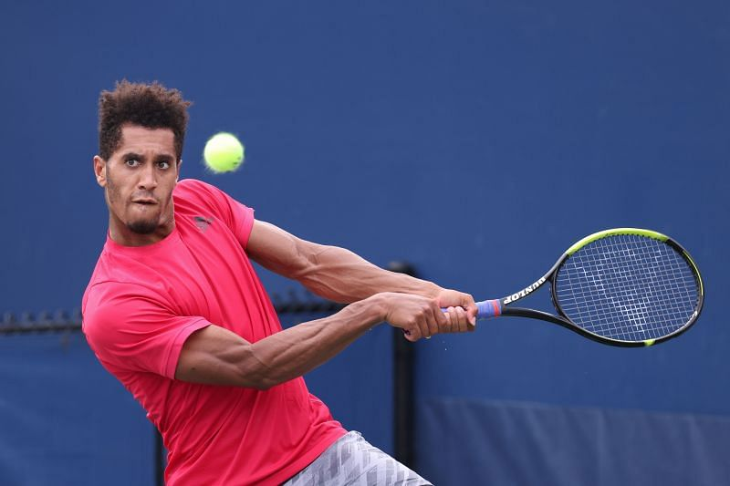 Michael Mmoh faces Pierre-Hugues Herbert in R1 of the French Open