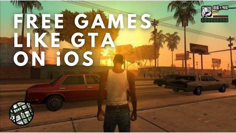 Free games like GTA on iOS