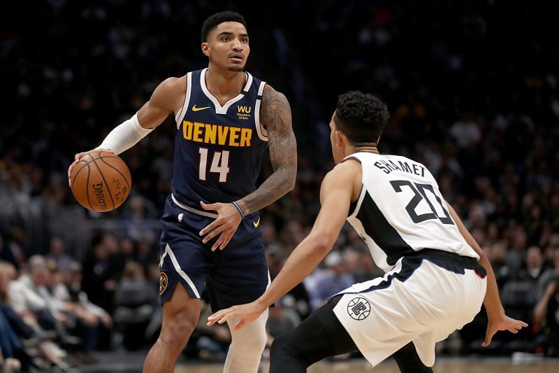 Gary Harris beats out Bradley Beal for the position of Shooting Guard.