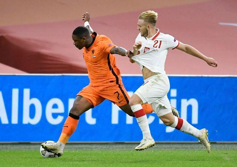 Despite having more possession, the Netherlands struggled to open up Poland