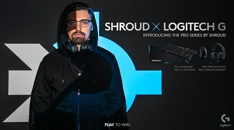 Shroud partners with Logitech G for the launch a brand-new