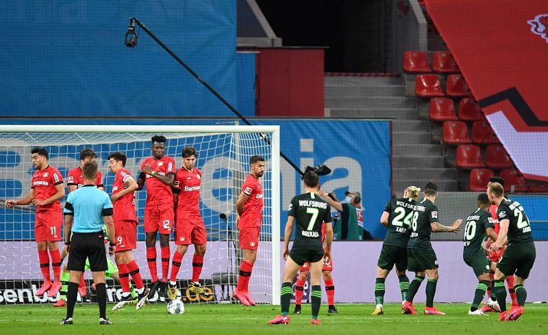 Wolfsburg take on Bayer Leverkusen this week
