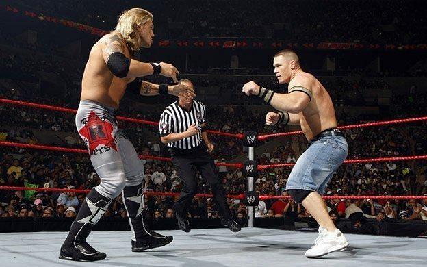 Edge vs John Cena