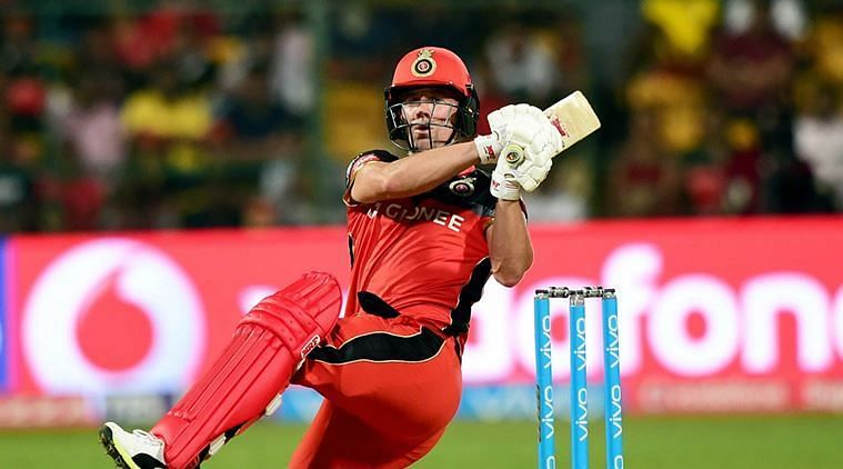 AB de Villiers scored a brilliant half-century and helped RCB post a competitive total of 163-5