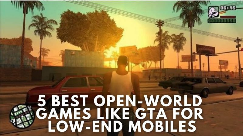 Five best open-world games like GTA for low-end mobiles
