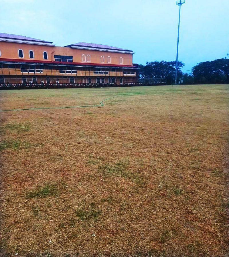 Salvador do Mundo Ground (Photo: Twitter)