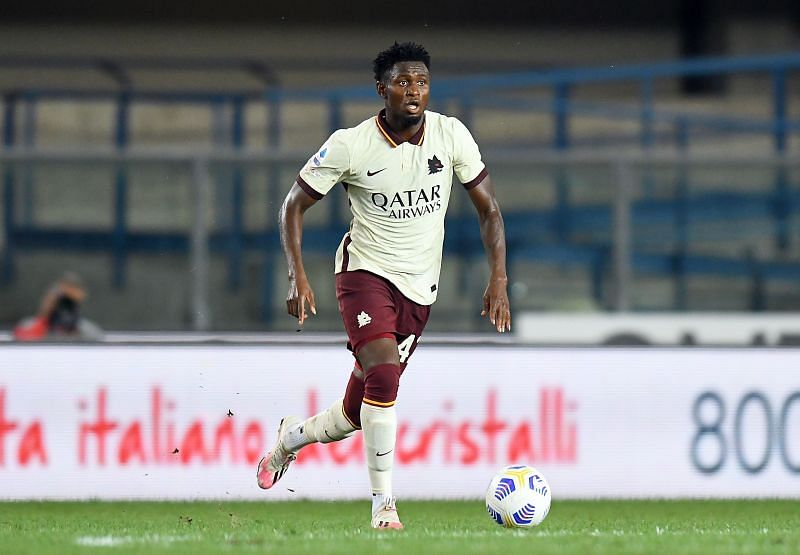 Diawara in action for AS Roma