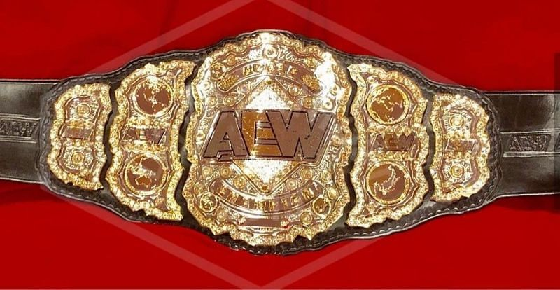 The best looking Championship belt in professional wrestling today.