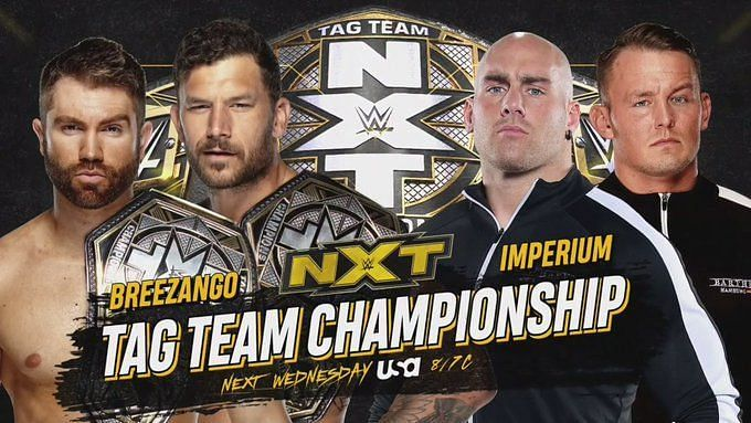 NXT Tag Team Championship match announced for next week