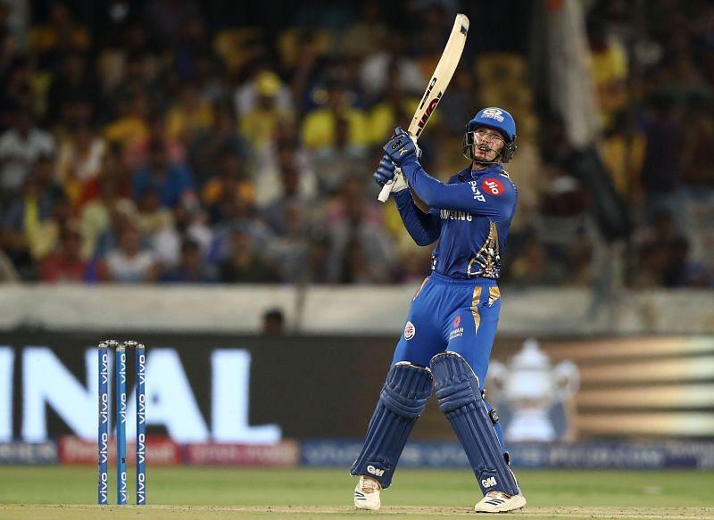 Quinton de Kock is yet to play a big innings in IPL 2020
