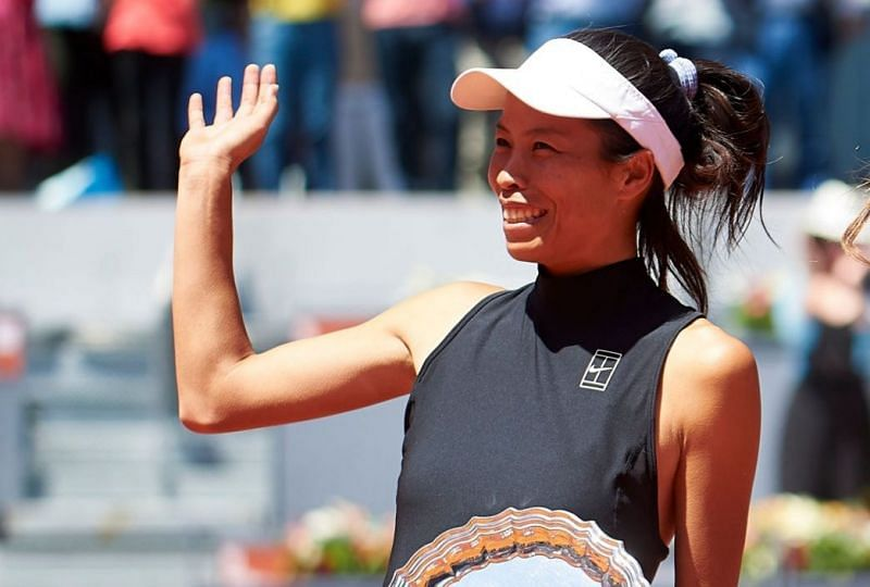 Hsieh Su-Wei is one of the many big match players in the last quarter.