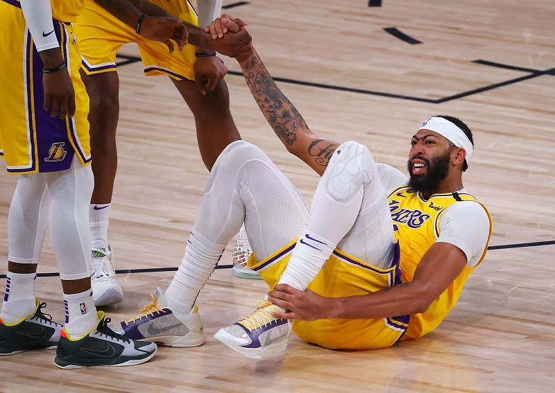 NBA News Update: Anthony Davis injured his ankle in Game 4 and has given an update on the same