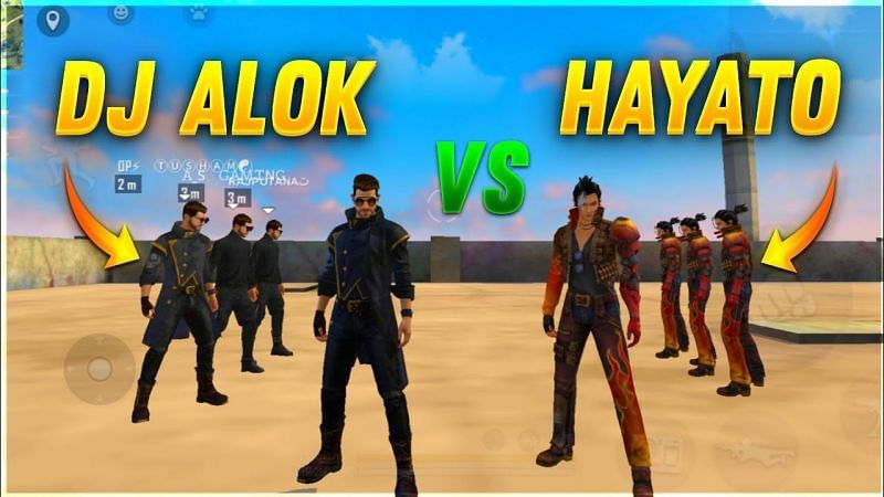 Dj Alok vs. Hayato in Free Fire: Comparing both their abilities (Image Credits: A_S Gaming / YouTube)