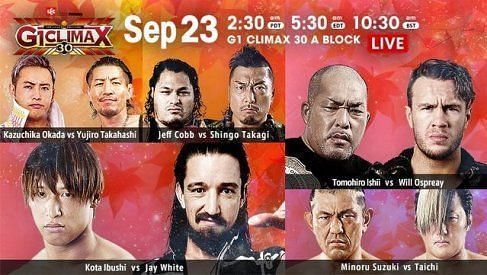 G1 Climax 30 A Block is back in action on a very good Night 3.