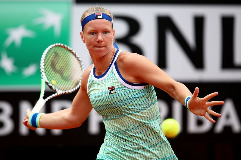Kiki Bertens at the International BNL d