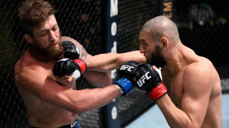 Khamzat Chimaev was once again victorious in the UFC