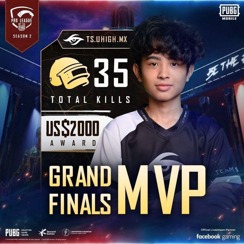 PMPL S2 MY/SG Grand Finals mvp