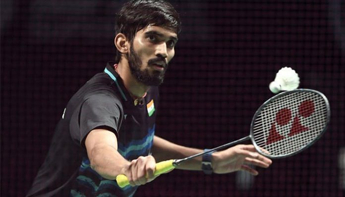 Kidambi Srikanth is a two-time Commonwealth Games medallist and former World No. 1