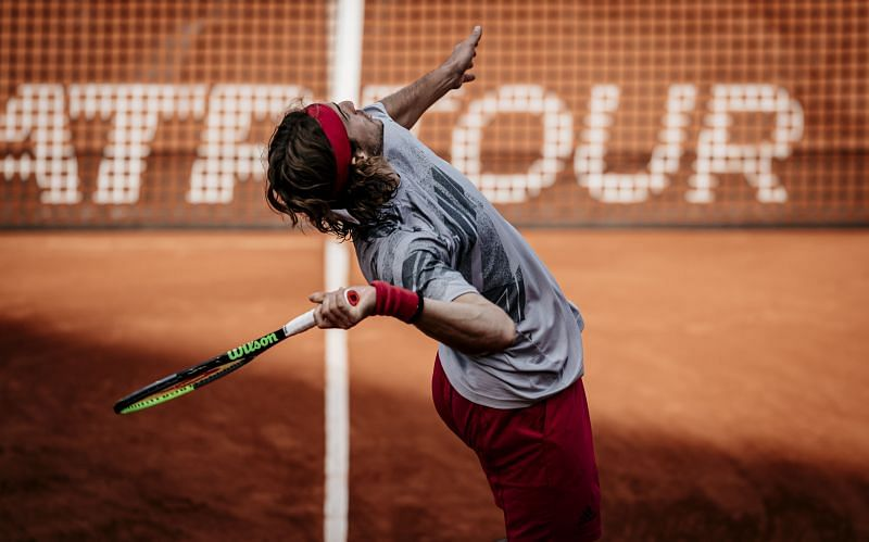 Stefanos Tsitsipas will be keen to make a statement in Hamburg ahead of next week