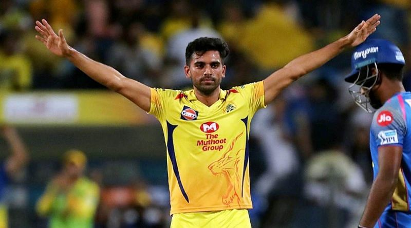 Ajit Agarkar is hopeful that Deepak Chahar will be fit in time to be available for CSK