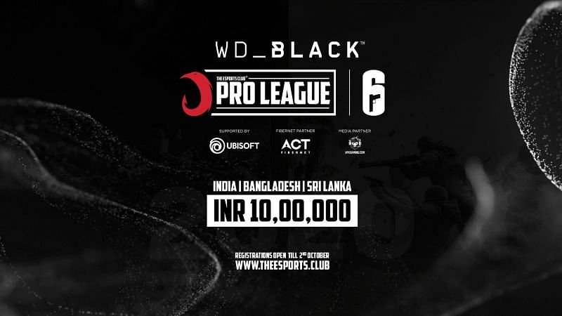 The WD Black TEC Pro League for TOM CLANCY