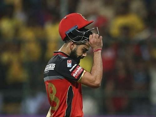 Virat Kohli took a lot of the blame after the loss against KXIP