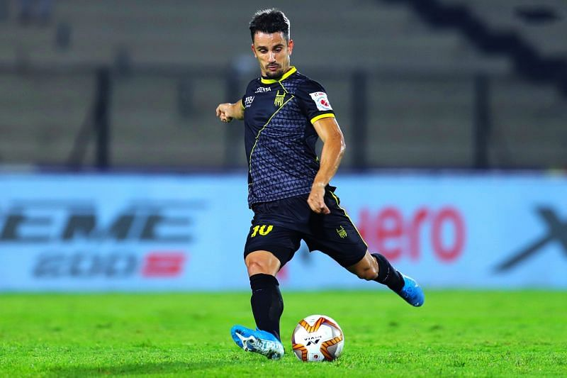 Marcelinho representing Hyderabad FC. (Photo: Twitter)