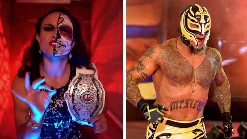 Thunder Rosa competed in Lucha Underground as Kobra Moon