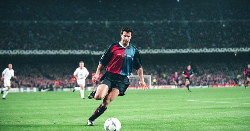 Luis Figo made a controversial direct transfer from Barcelona to Real Madrid in 2000.