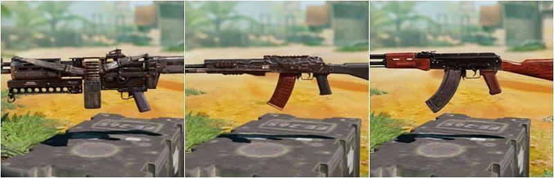 COD Mobile: 3 best guns in Battle Royale