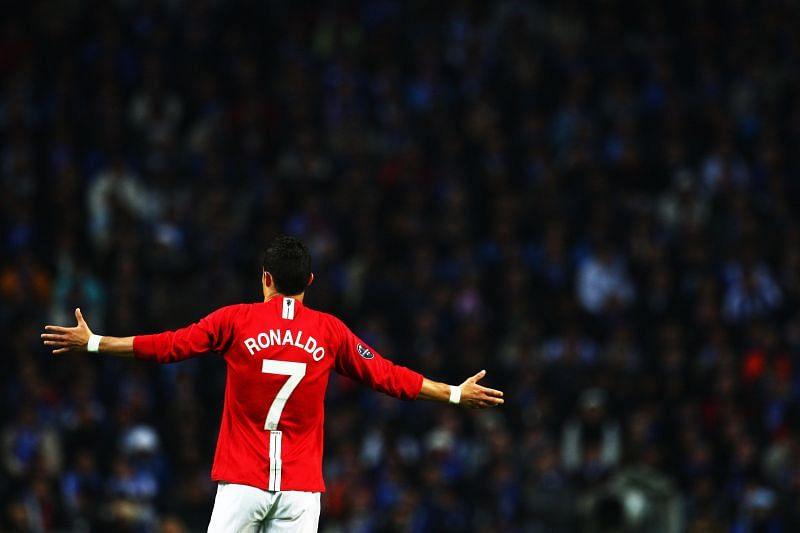 Cristiano Ronaldo at Manchester Unite