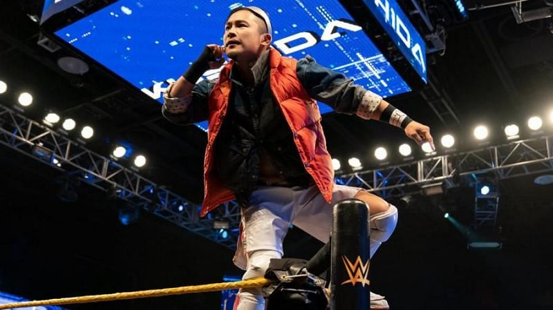Kushida has just been announced as the first competitor in the NXT Gauntlet Eliminator match