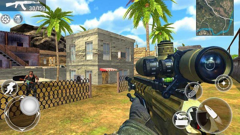 Fire Squad Battle Royale – Free Gun Shooting Game. Image: APKPure.com.