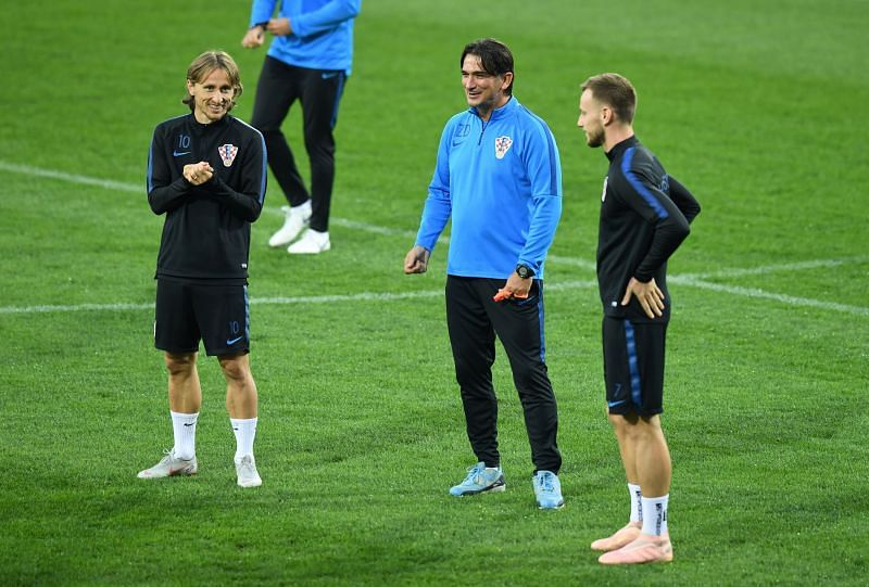 Croatian veterans and World Cup 2018 stars Modric and Rakitic did not feature against France