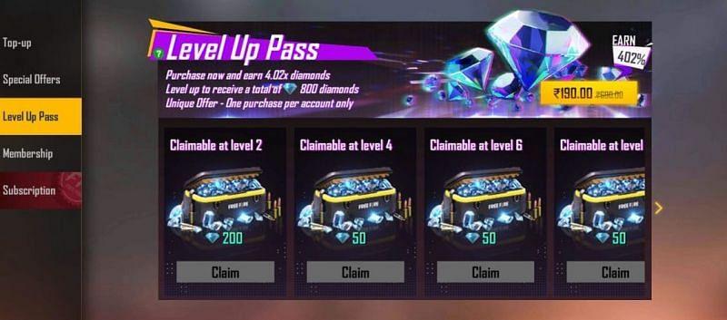 Level-up Pass
