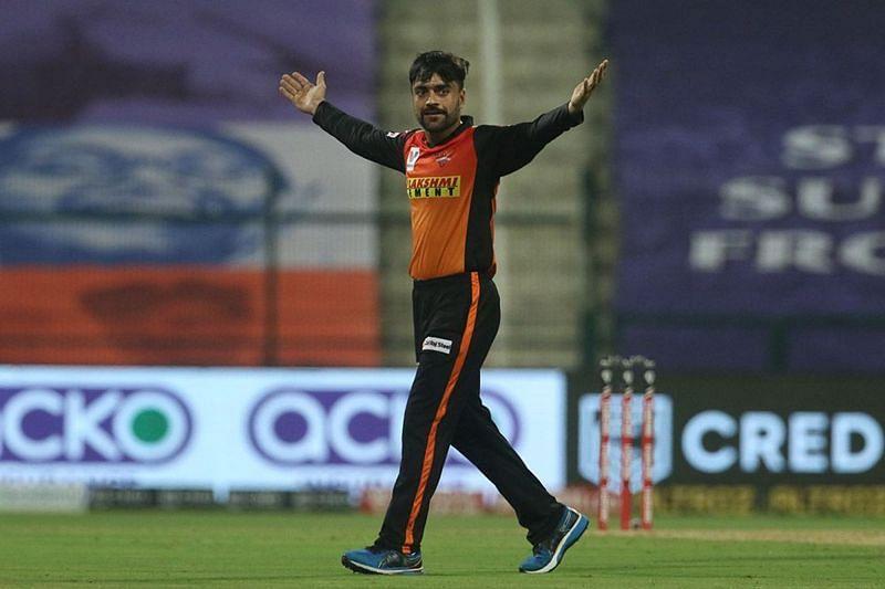 Rashid Khan has picked up 17 wickets at IPl 2020 so far.