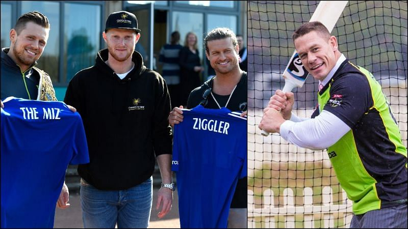 WWE Superstars have enjoyed playing cricket during their international tours