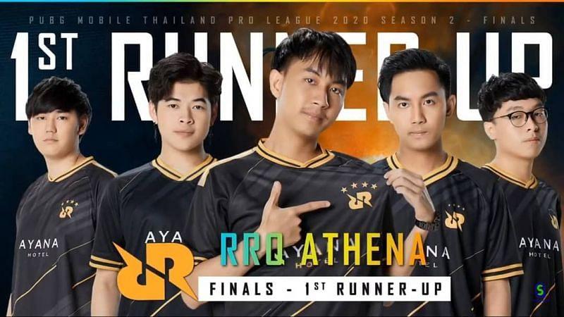 RRQ Athena, runners-up at the PMPL Season 2 Thailand Grand Finals