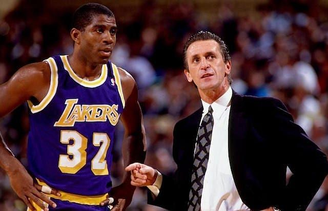 Pat Riley was the coach of the Showtime Lakers